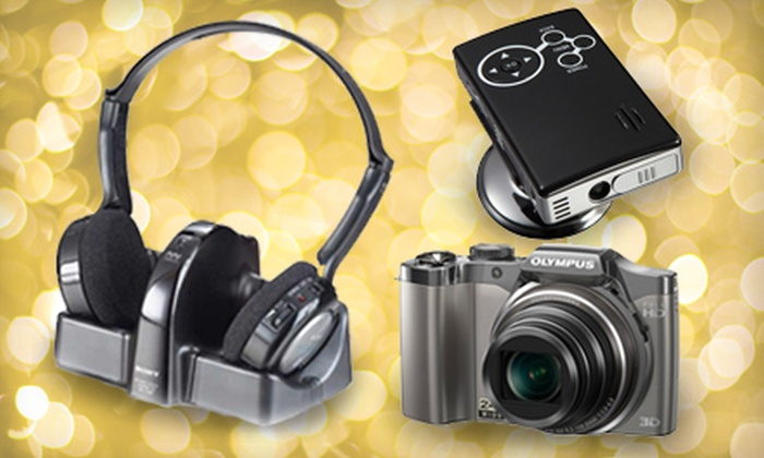 The Sharper Image: $25 for $50 Worth of Home Technology from The Sharper Image