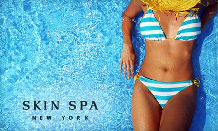 Skin Spa - Multiple Locations: One or Three Women's Brazilian Bikini Waxes, or $40 for $100 Worth of Waxing Services at Skin Spa