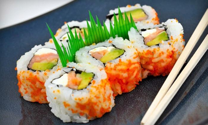 Sakura Sushi Kansas City - Lee's Summit: $10 for $20 Worth of Asian Fare and Sushi at Sakura in Lee's Summit