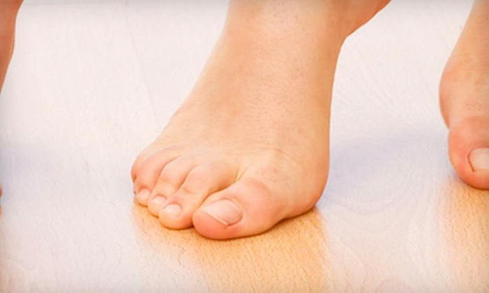 Dr. Bassem Demian, DPM - Brick: Medical Pedicure and Laser Toenail-Fungus Removal on One or Both Feet at Dr. Bassem Demian, DPM in Brick (Up to 72% Off)