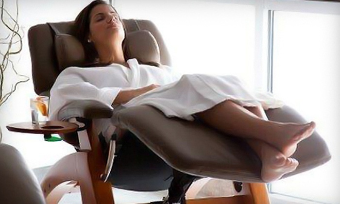 Hiatus Spa + Retreat - Old West Austin: $49 for a Choice of Massage, Facial, Exfoliation Treatment, Body Wrap, or Hiatus Mani-Pedi Retreat at Hiatus Spa + Retreat (Up to $100 Value)