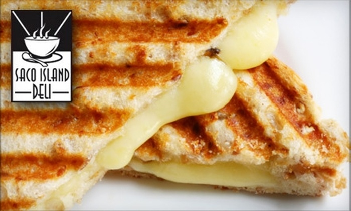 Saco Island Deli - Saco: $5 for $10 Worth of Gourmet Sandwiches and More at Saco Island Deli