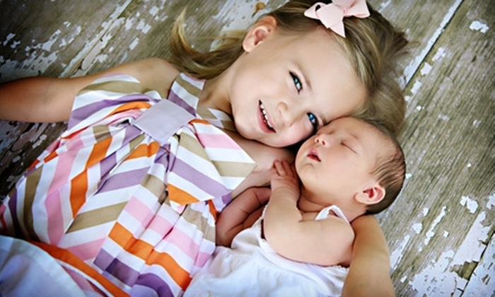 "Alicia's Photography - Naperville: $200 for a One-Hour Photo Session, a DVD Slideshow, and a 5""x7"" Print at Alicia's Photography in Naperville ($455 Value)"