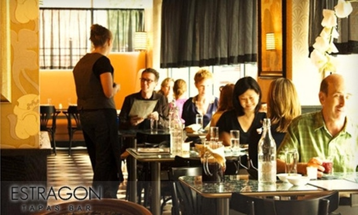 Estragon - South End: $20 for $40 Worth of Tapas and Drinks at Estragon
