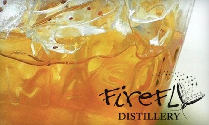 Firefly Distillery - Wadmalaw Island: $6 for Two Distillery Tasting Passes at Firefly Distillery on Wadmalaw Island
