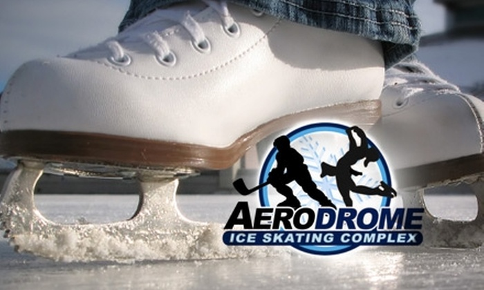 Aerodrome Ice Skating Complex - Willowbrook: $5 for Skate Rental and Admission to the Aerodrome Ice Skating Complex ($10 Value)