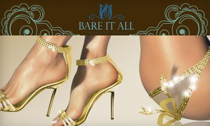 Bare It All Signature Waxing - South Tuxedo Park: $25 for $55 Worth of Waxing at Bare It All Signature Waxing