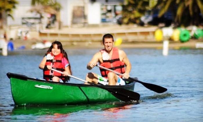 Carlsbad Lagoon - Carlsbad: $20 for a Two-Hour Kayak, Canoe, Aqua Cycle, or Stand-Up Paddleboard Rental at Carlsbad Lagoon (Up to $50 Value)