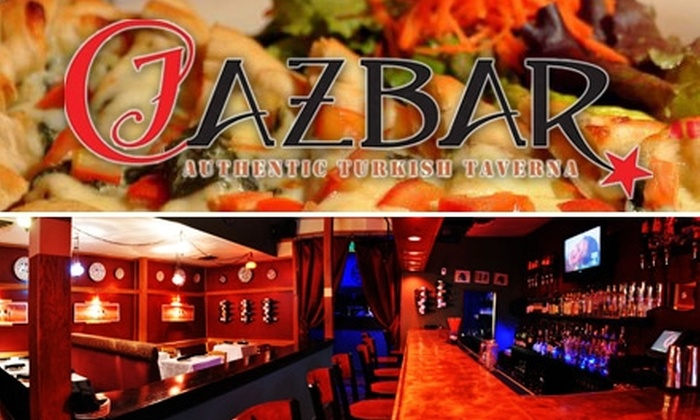 Cazbar - Downtown: $15 for $30 Worth of Turkish Fare and Drink at Cazbar