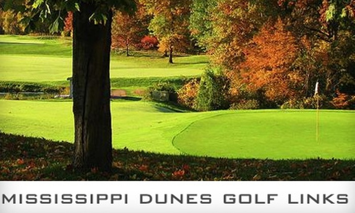 Mississippi Dunes Golf Links - Cottage Grove: $36 for 18 Holes of Golf with Cart at Mississippi Dunes Golf Links in Cottage Grove