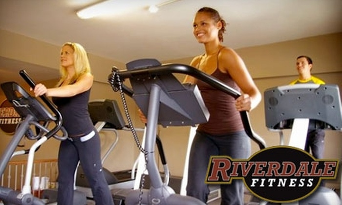 Riverdale Fitness - Blake - Jones: $15 for One Month of Unlimited Access at Riverdale Fitness ($69 Value)