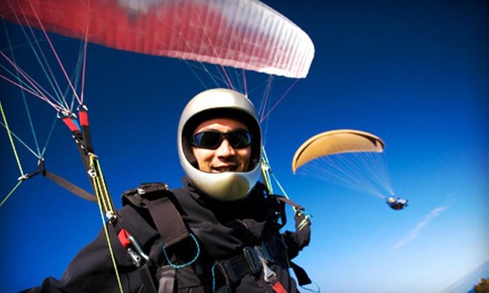 Rapture Air Paragliding School - Sunport: $89 for Tandem Flight from Rapture Air Paragliding School ($180 Value)