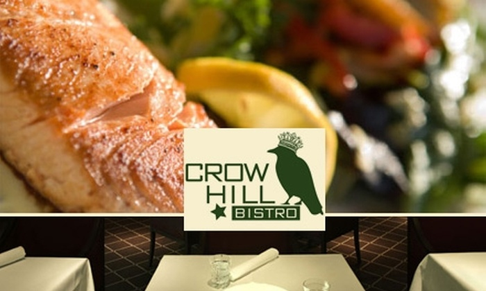 Crow Hill Bistro - Crown Heights: $18 for $40 Worth of Classic Cuisine and Drinks at Crow Hill Bistro