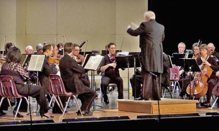 """Livonia Symphony Orchestra - Livonia: Two or Four Tickets to Livonia Symphony's """"Musical Landscapes"""" at Louis Schmidt Auditorium in Livonia on October 8"""