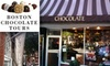 Taste of Chocolate - Back Bay: $48 for a Taste of Chocolate Walking Tour