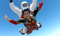 Saut en parachute en tandem avec remise dun cadeau à lissue du saut à 188 € avec Cerps Gap-Tallard