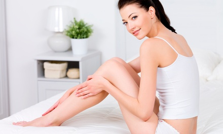 Six Laser Hair-Removal Treatments for a Small, Medium, or Large Area at Laserderm Medispa (Up to 86% Off)