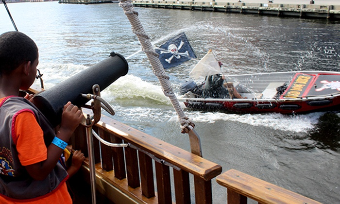 Urban Pirates -  National Harbor - New Location - Urban Pirates -  National Harbor: Adult Cruise for One or Family Adventure Cruise for Four at Urban Pirates - National Harbor (Up to 42% Off)
