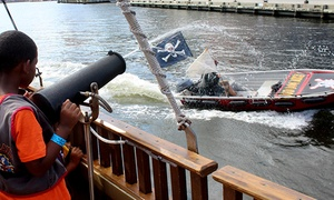 Urban Pirates -  National Harbor: Adult Cruise for One or Family Adventure Cruise for Four at Urban Pirates - National Harbor (Up to 42% Off)