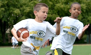 Green Bay Packers Youth Football Camps: Green Bay Packers Non-Contact Instructional Five-Day Youth Football Camp for Ages 6–14 (Full– or Half-Day Options)