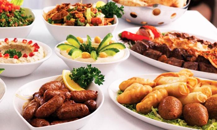 Mazar Mediterranean Restaurant - Woodland Hills: Mediterranean Food, Drinks, and Hookahs at Mazar Mediterranean Restaurant (35% Off). Two Options Available.