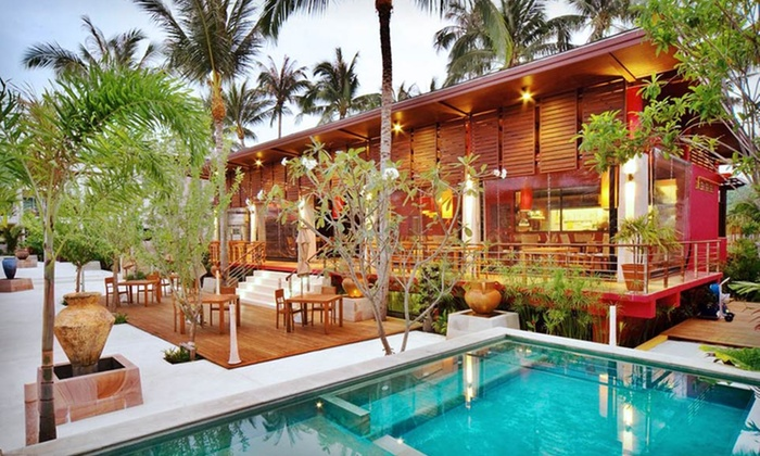 Elements Boutique Resort & Spa: Five- or Seven-Night Stay with Daily Yoga, Island Boat Tour, and Bike Tour at Elements Boutique Resort & Spa in Thailand