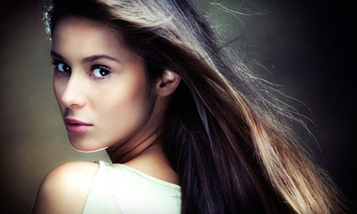 Amave'l Hair Studio - Midtown: Blowout or Brazilian Blowout at Amave'l Hair Studio (Up to 60% Off)