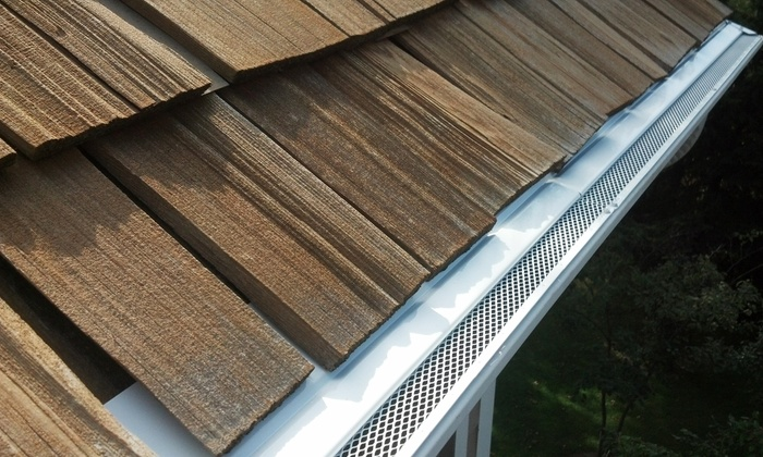 ARC Window Cleaning - Charlotte: $839 for Aluminum Gutter Covering for Up to 100 Linear Feet from ARC Window Cleaning ($1,200 value)