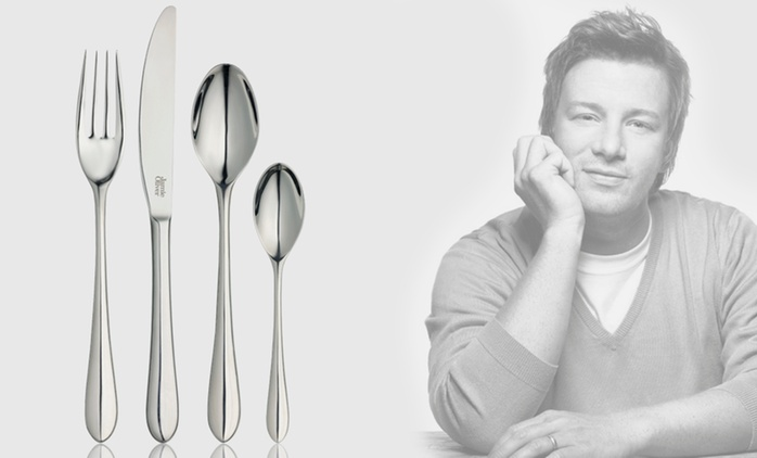 Jamie Oliver 32-Piece CutlerySet for £29.99 With Free Delivery