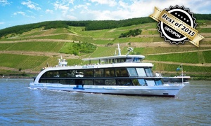 Bingen Rüdesheimer Fahrgastschiffahrt: 4,5 Std. Loreley-Rundfahrt für 2 oder bis zu 5 Personen mit der Flotte Bingen-Rüdesheimer Fahrgastschiffahrt ab 19,90 €