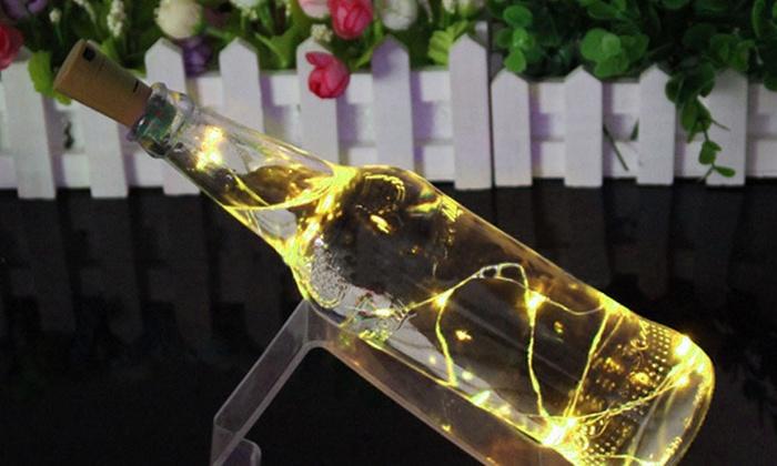 Decorative Bottle Lights Groupon Interesting Decorative Bottles With Corks