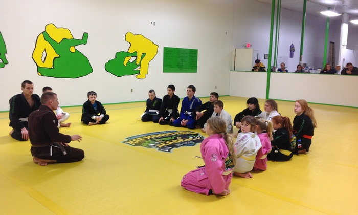 Mat Monsters Academy - Whitinsville: Four Weeks of Unlimited Brazilian Jiu-Jitsu Classes at Mat Monsters Academy (45% Off)