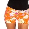 Women's Floral-Print Denim Shorts (Size 7)