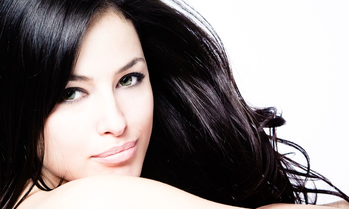 Hair Frenzy Salon - Pembroke Pines: Haircut Packages with Deep Conditioning and Retouch Color at Hair Frenzy Salon (Up to 59% Off). Three Options Available.