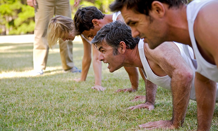 HMB Bootcamp - Multiple Locations: Four or Eight Weeks of Boot-Camp Classes at Health Mind Body (Up to 71% Off)