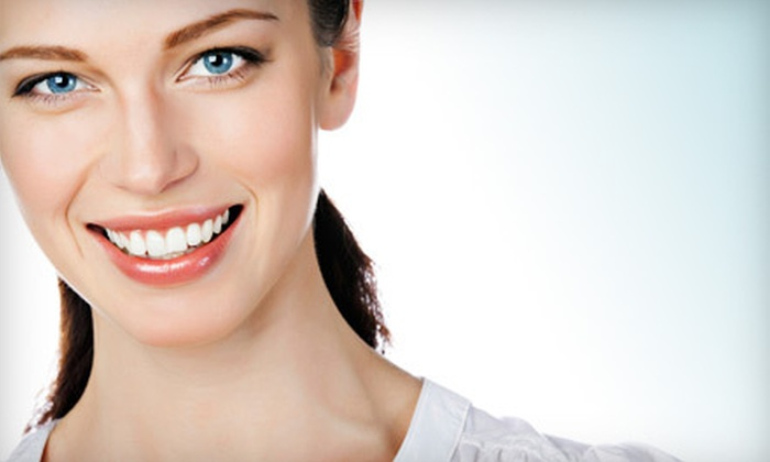 Aesthetic Image Dentistry - Mendham: New-Patient Exam, X-rays, and Cleaning with Optional Take-Home Whitening Kit at Aesthetic Image Dentistry (Up to 87% Off)