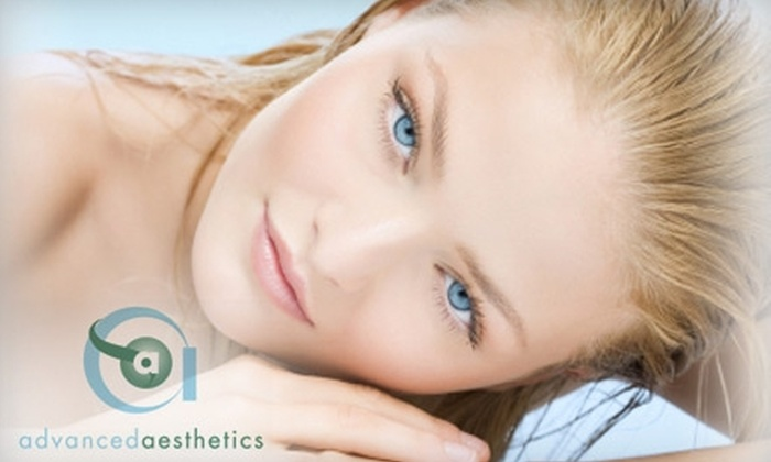Advanced Aesthetics - Canyon Gate: $85 for Three Laser Hair-Removal Treatments at Advanced Aesthetics (Up to $450 Value)