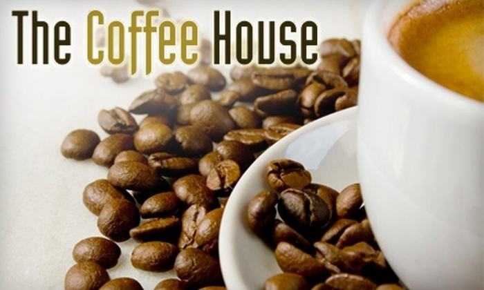 The Coffee House - Norton Shores: $10 for a $20 Gift Card Good Toward Specialty Coffee, Tea, and More at The Coffee House in Muskegon
