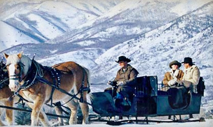 Rocky Mountain Outfitters - Midway: $37 for 30-Minute Sleigh Ride for Two from Rocky Mountain Outfitters in Midway ($75 Value)