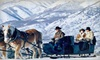 Provo Canyon Adventures - Midway: $37 for 30-Minute Sleigh Ride for Two from Rocky Mountain Outfitters in Midway ($75 Value)