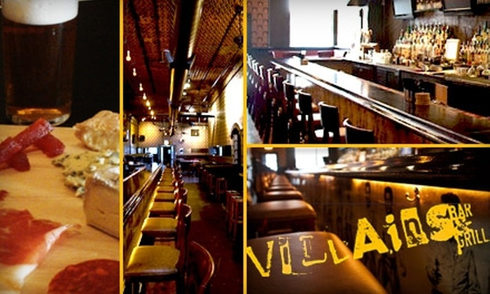 Villain's Bar & Grill - South Loop: $20 Beer, Meat, and Cheese Tasting at Villain's Bar & Grill