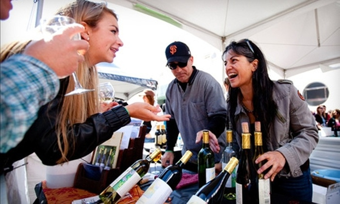 Ghirardelli Square - Russian Hill: $50 for Two Admissions to Uncorked! Wine Festival at Ghirardelli Square on May 21 ($100 Value)