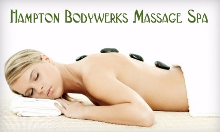 Hampton Bodywerks Massage Spa - Oak Park / Northwood: $60 for a 90-Minute Hot Stone or Hot Thai Herbal Ball Massage at Hampton Bodywerks Massage Spa ($130 Value)