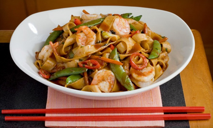 Stir Crazy Fresh Asian Grill - Shops of Southlake: $15 for $30 Worth of Asian Cuisine Featuring All-You-Can-Eat Stir Fry at Stir Crazy Fresh Asian Grill in Southlake