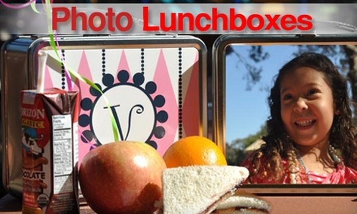 Photo Lunchboxes: $15 for a Personalized Photo Lunchbox from Photo Lunchboxes ($30 Value)