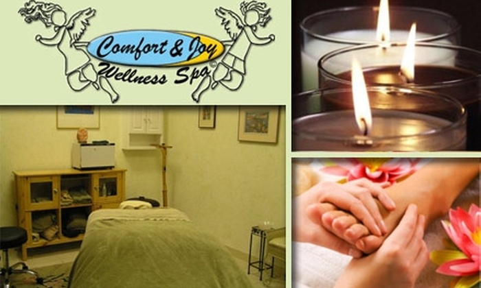 Comfort & Joy Wellness Spa - Fairfax: $27 for Soothing Foot Massage with Aromatherapy Scents at Comfort & Joy Wellness Spa ($70 Value)