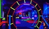 Glow-A-Rama - Buchanan: 18 Holes of Black-Light Mini Golf for Two or Four at Glow-A-Rama in Buchanan