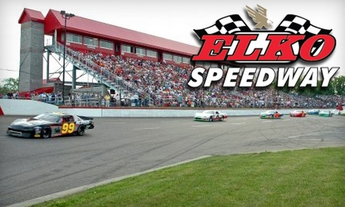 Elko Speedway - Elko New Market: $15 for Two Tickets to a NASCAR Whelen All-American Race, Two Drinks, and a Popcorn at Elko Speedway (Up to $34 Value). Seven dates available.