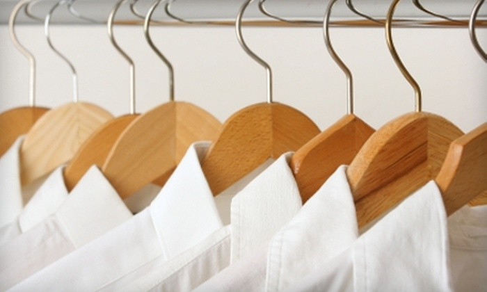 Master Cleaners - Multiple Locations: $10 for $20 Worth of Laundry and Dry Cleaning Services at Master Cleaners