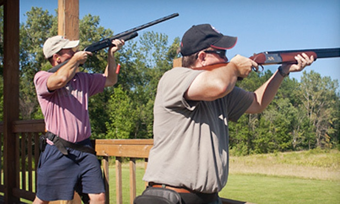 Little Creek Lodge - Pensaukee: Clay-Shooting Package for Two or Four at Little Creek Lodge (Up to 53% Off)